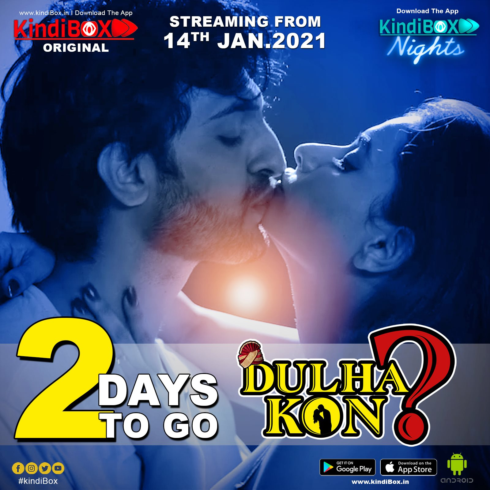 18+ Dulha Kon S01 2021 Hindi Kindibox Original Complete Web Series 720p HDRip 800MB Download