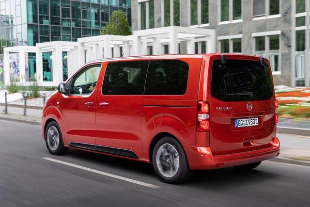 De l'électricité dans l'air : l'Opel Zafira-e Life tout électrique en vente à partir de 51 500 euros bonus environnemental déduit Opel-Zafira-e-512825