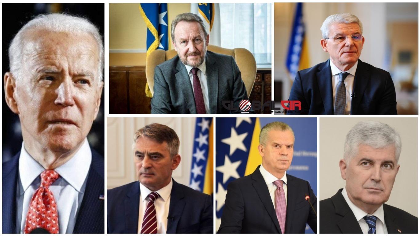 IAKO REZULTATI IZBORA NISU POTVRĐENI, BH. POLITIČARI ČESTITALI BAJDENU! Evo šta su poručili Izetbegović, Džaferović, Komšić, Radončić i Čović!