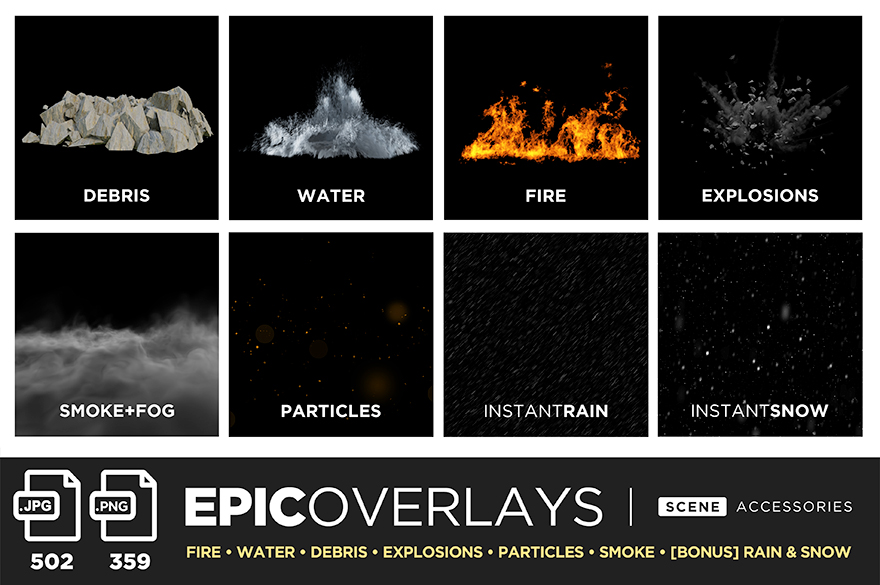 epic scene overlays main slide