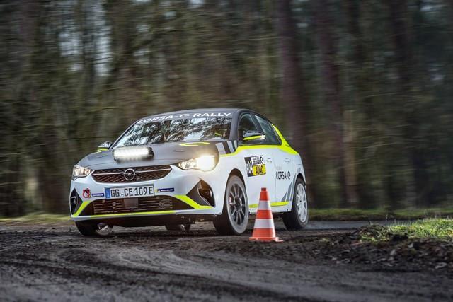 Le calendrier de l'ADAC Opel e-Rally Cup est fixé Opel-Corsa-e-Rally-513853