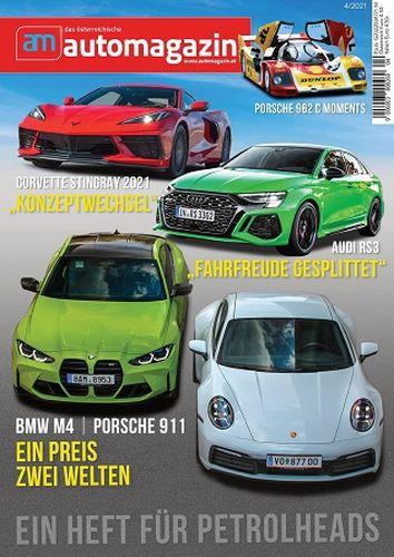 Cover: am Automagazin Austria Magazine No 04 2021