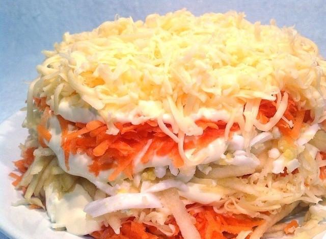 салат овощные праздничные рецепты