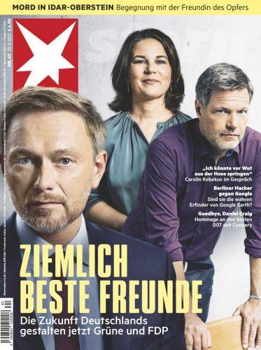 Cover: Der Stern Nachrichtenmagazin No 40 vom 30  September 2021