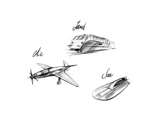 Les risque-tout chez Bugatti – entre l'avion et la voiture de course  02-ettore-bugatti-projects-02-reduced