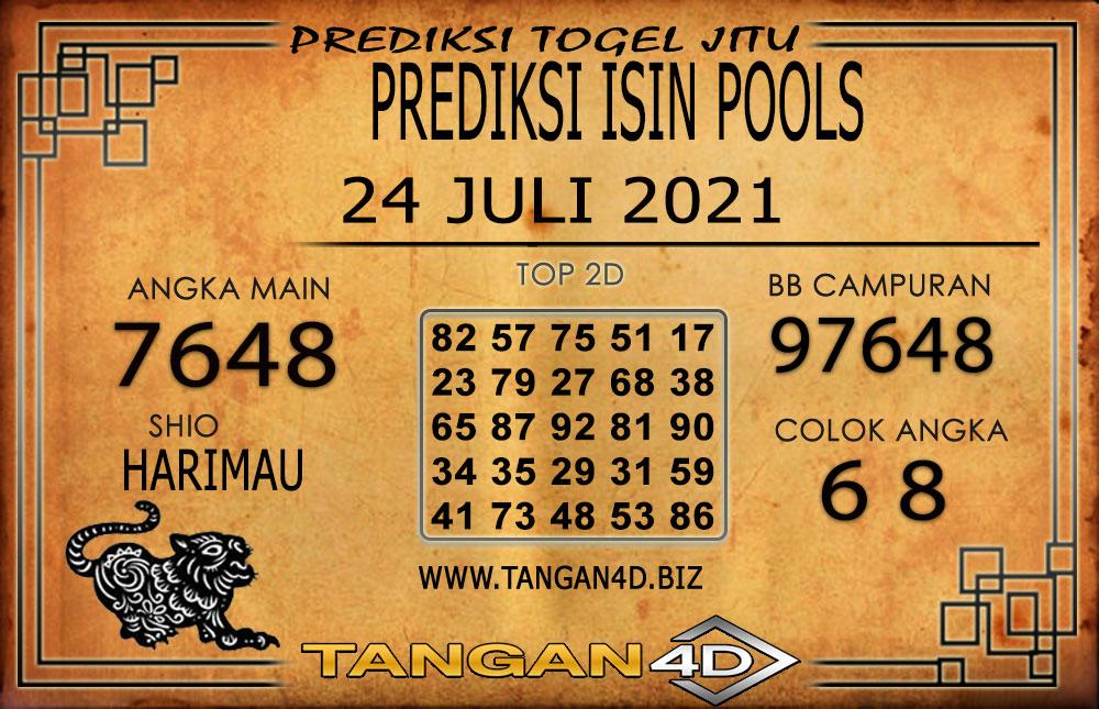 PREDIKSI TOGEL ISIN TANGAN4D 24 JULI 2021