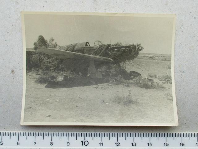 Klasse-Foto-Kameraden-Mit-Abgeschossenen-Martinbomber-Flugzeug-2-Wk