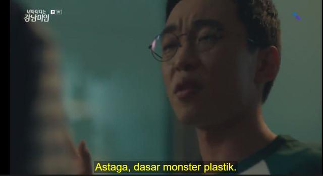 Chan Woo sebut Mi Rae Monster Plastik