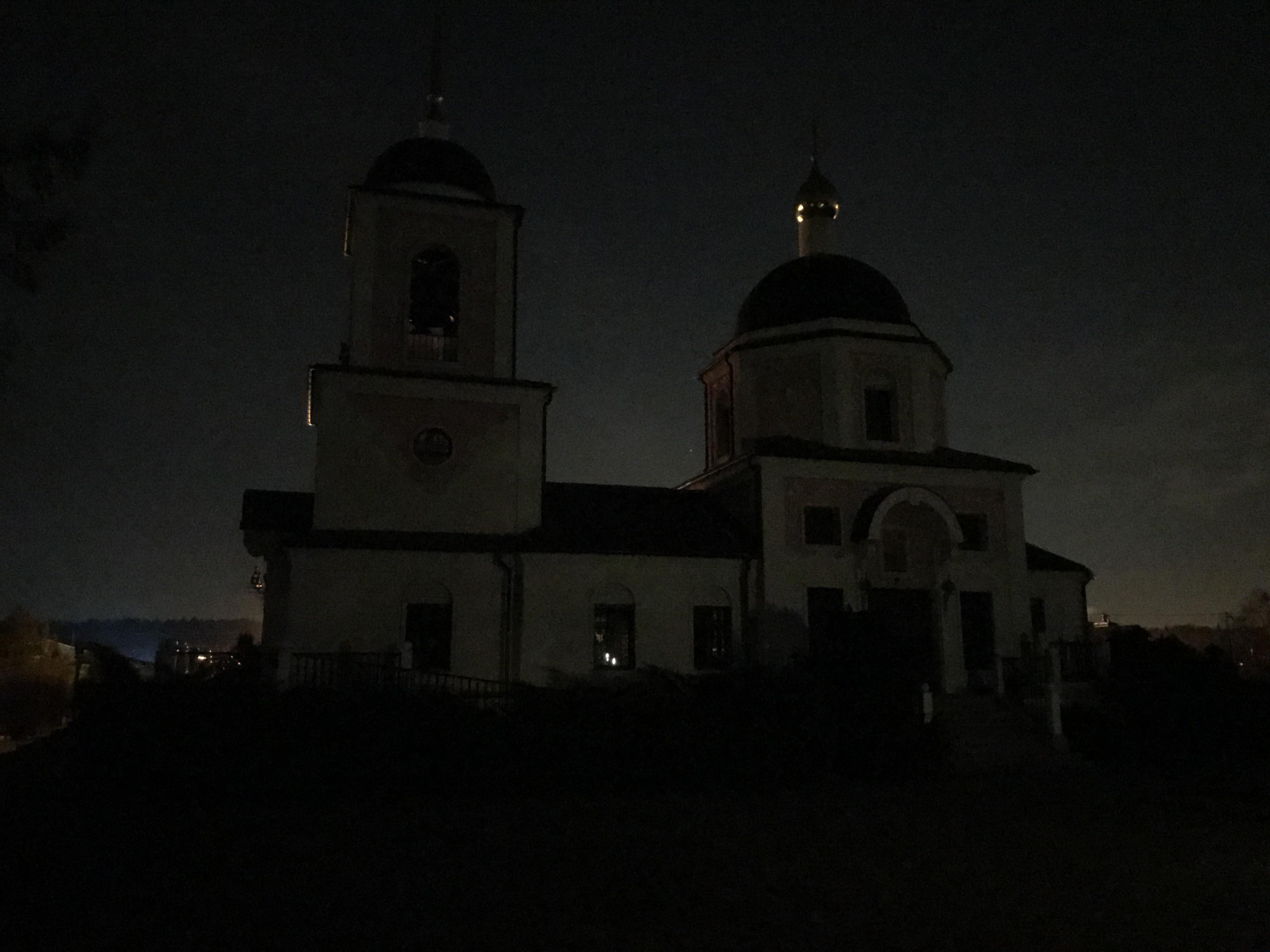 Храмы Одинцовского благочиния приняли участие в ежегодной международной акции Час Земли, 28 марта с 20:30 - 21:30 была отключена подсветка зданий храмов Одинцовского церковного округа