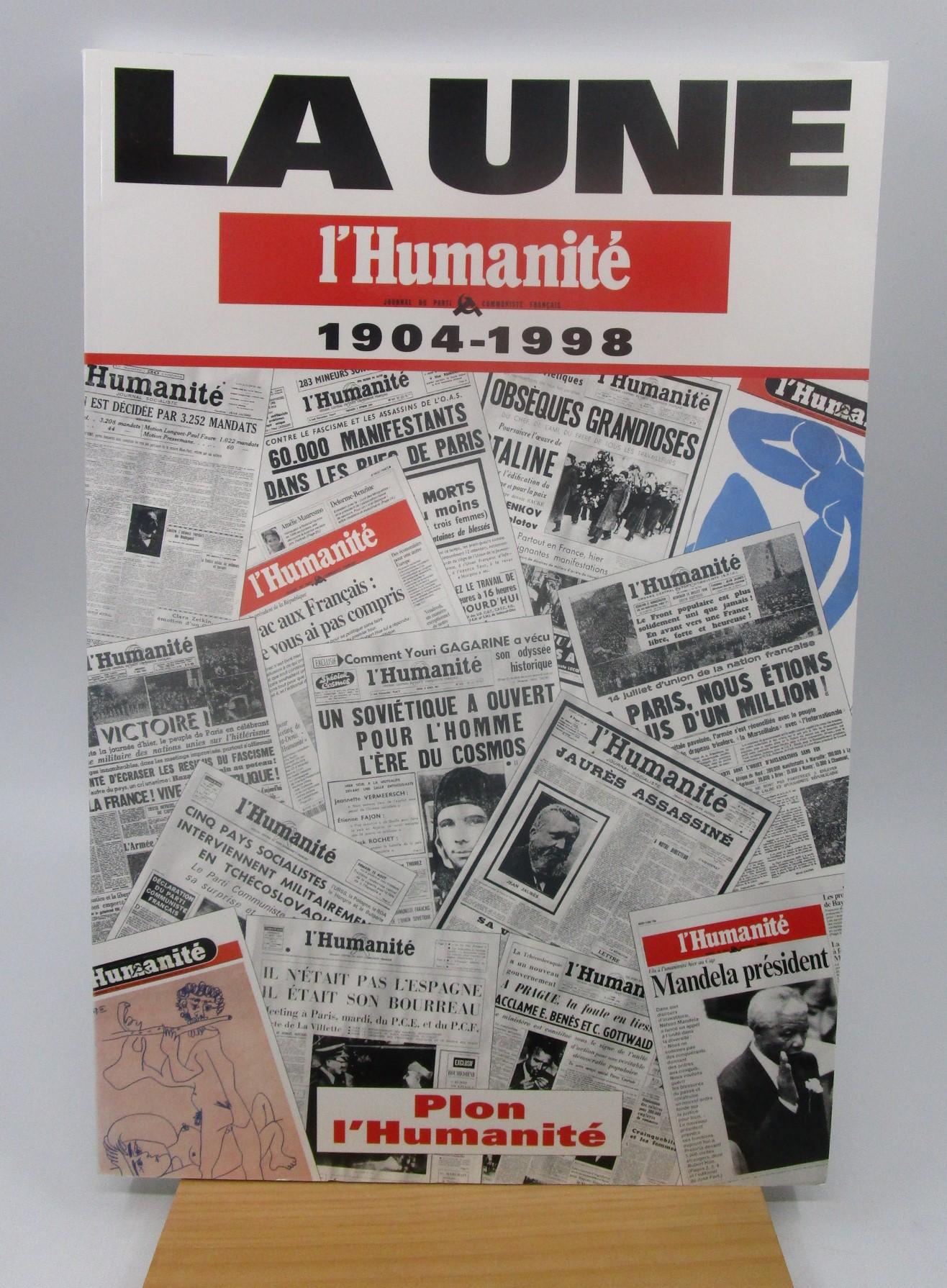 Image for La une : L'Humanit, 1904-1998