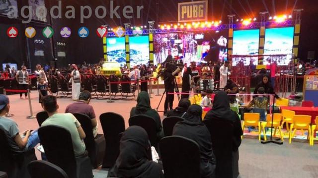 Intip Keseruan Turnamen PUBG di Arab Saudi Keseruan Turnamen PUBG