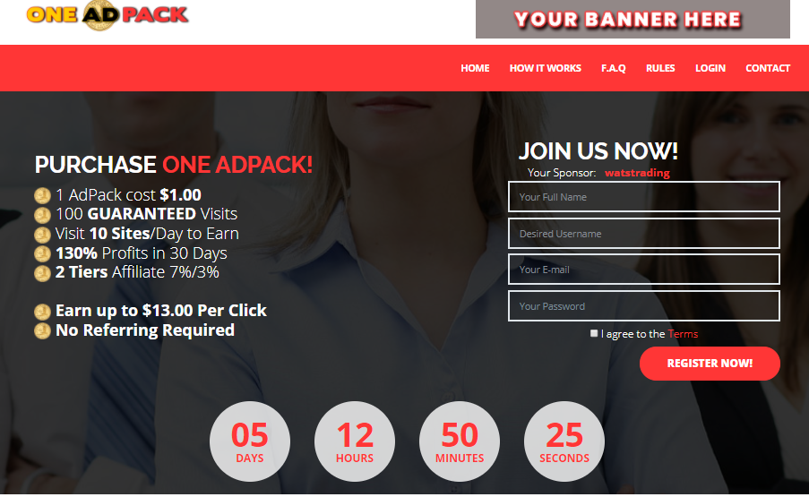 Oneadpack.com Review Scam or Paying revshare?