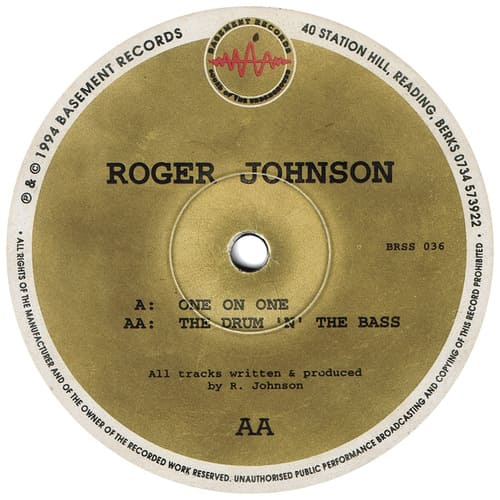 Download Roger Johnson - One On One / The Drum 'N' The Bass mp3