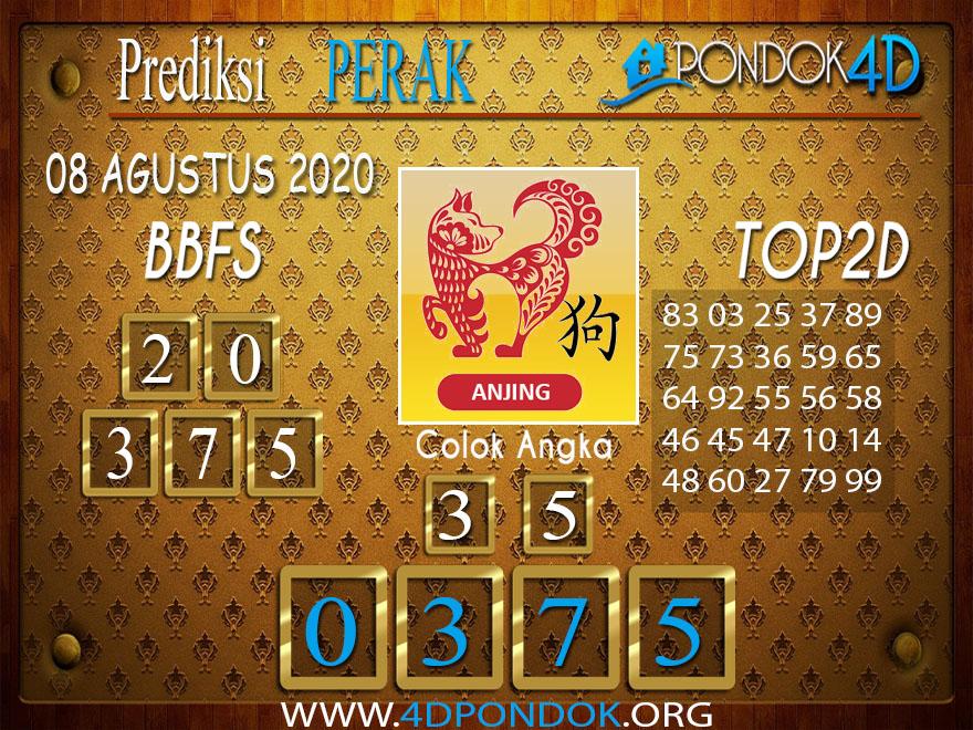 Prediksi Togel PERAK PONDOK4D 08 AGUSTUS 2020