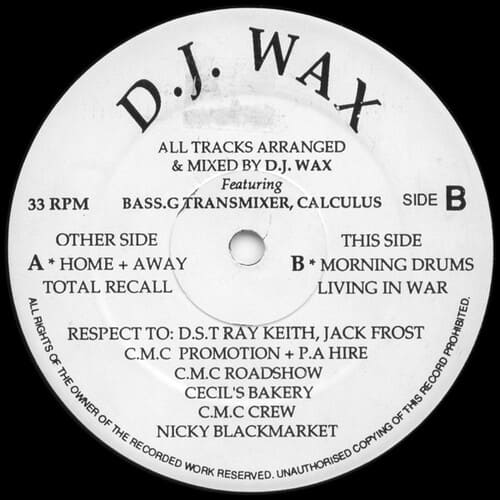 Download D.J. Wax - Home + Away mp3