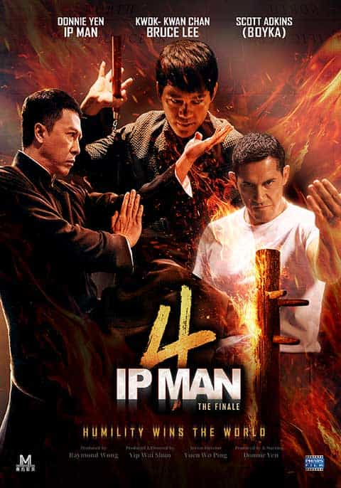 Ip Man 4 (2019) English HDRip DRR x264 AAC ESub