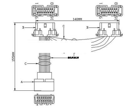 Y Cable diagram