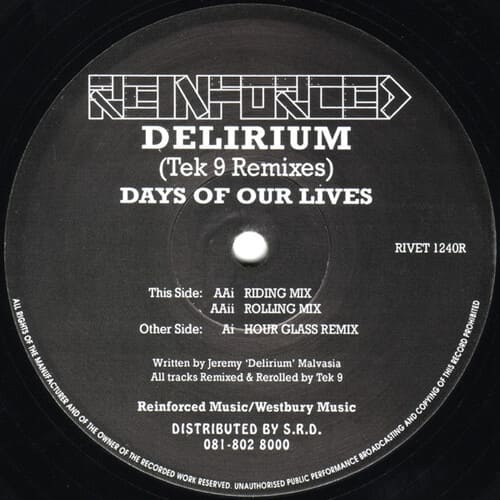 Delirium - Days Of Our Lives (Tek 9 Remixes)