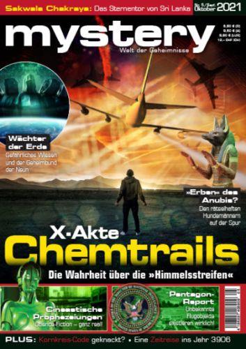 Cover: Mystery Welt der Geheimnisse No 05 September-Oktober 2021