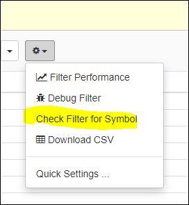 Check-Filter