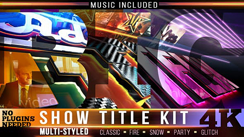 Show Logo Intro Kit 24432116 - Project for After Effects (Videohive)