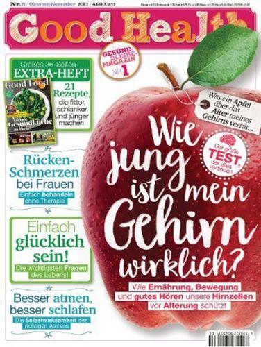 Cover: Good Health Magazin Gesund Bleiben No 08 Oktober-November 2021
