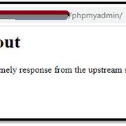 phpmyadmin-gateway-timeout