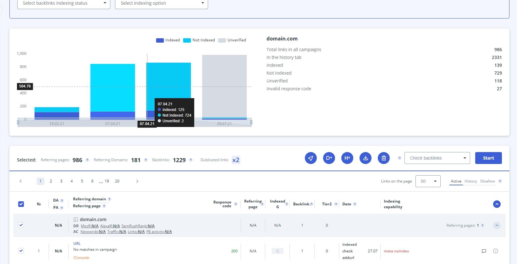 backlink management tool