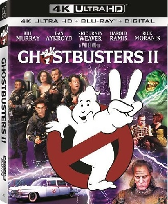 Ghostbusters II (1989) UHD 2160p HDR10 HEVC DTS ITA/ENG