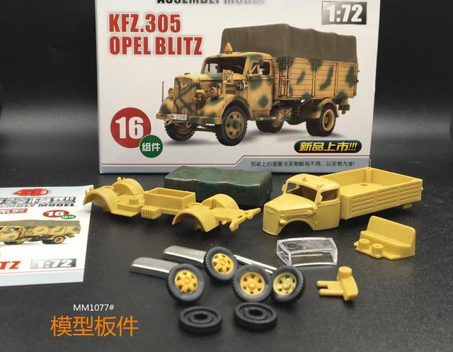 """4D puzzle model"" -Китайский производитель 4d-D-Opel-2"