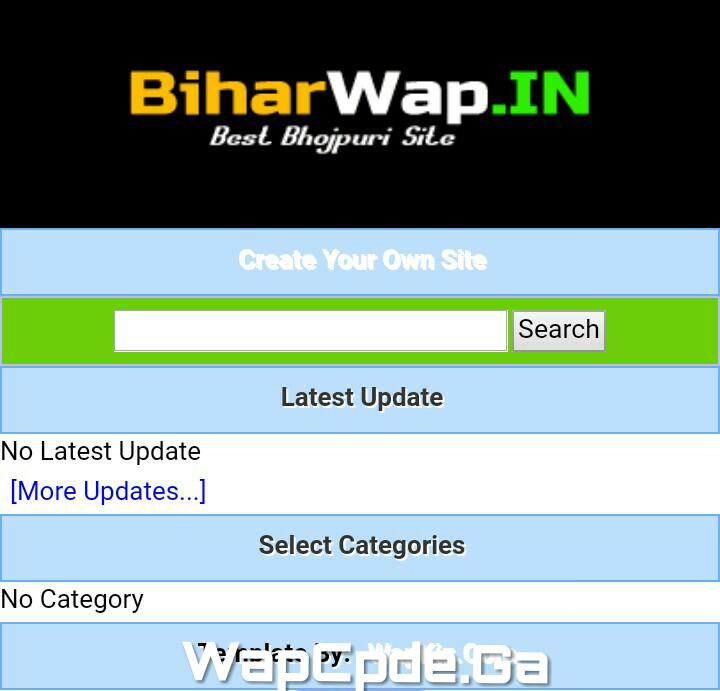 Website CSS Code (Like-BiharWap.IN) For Wapkiz And Vmwap Site