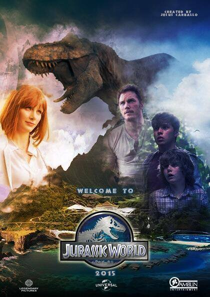 Jurassic World (2015) Blu-Ray 720p Org [Hindi+Eng] 800MB Download