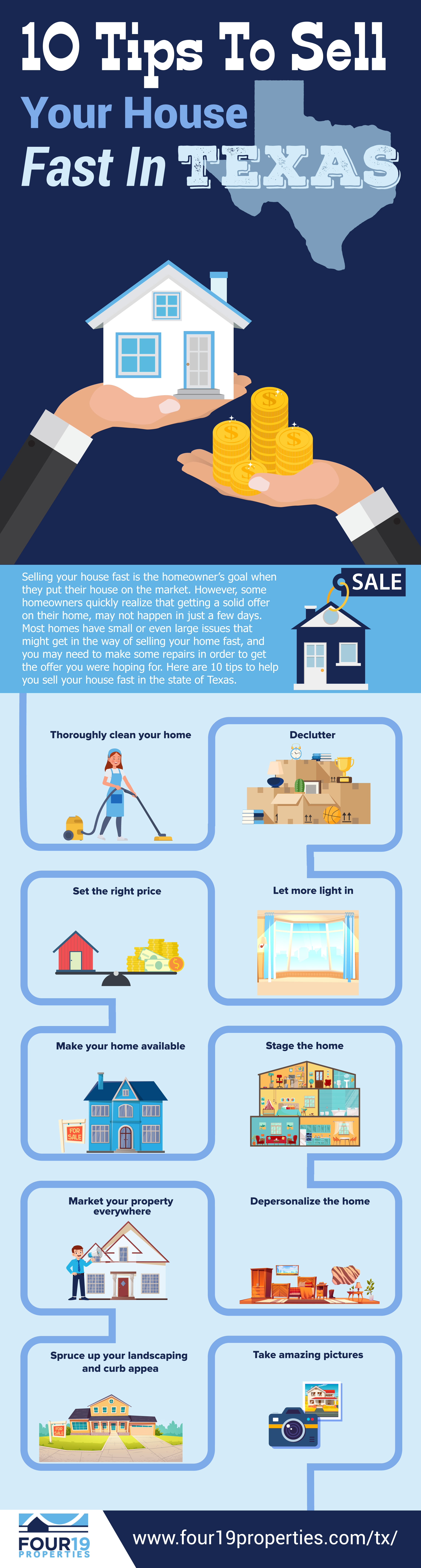 10 tips to sell your house fast in texas