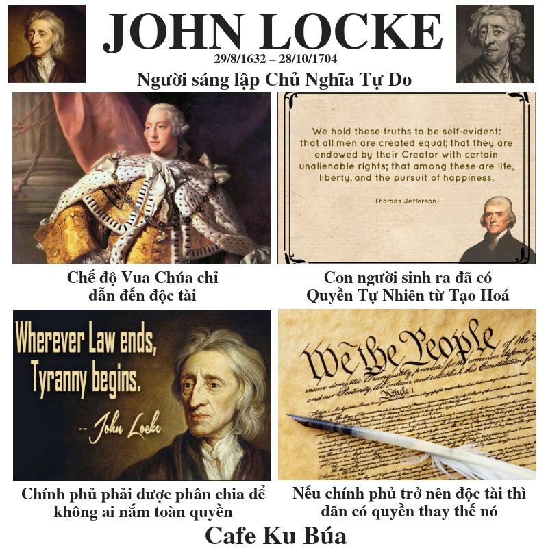 JOHN LOCKE: QUYỀN TỰ NHIÊN VÀ CHÍNH PHỦ