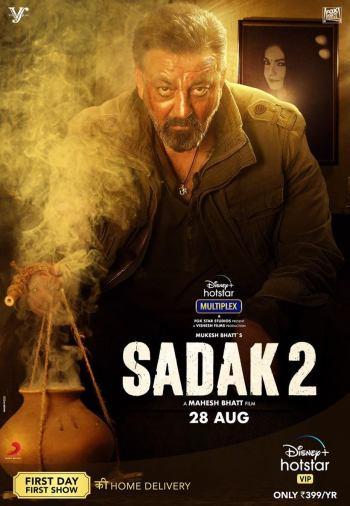 Sadak 2 (2020) Hindi HDRip 720p HEVC ESubs 550MB Download