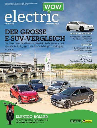 Cover: Electric Wow Magazin No 03 2021