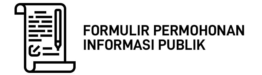 Formulir permohonan publik