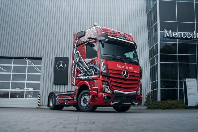 """Le choix des lecteurs - Mercedes-Benz Actros désigné """"Truck of the Year"""" en Pologne Actrospologne"""