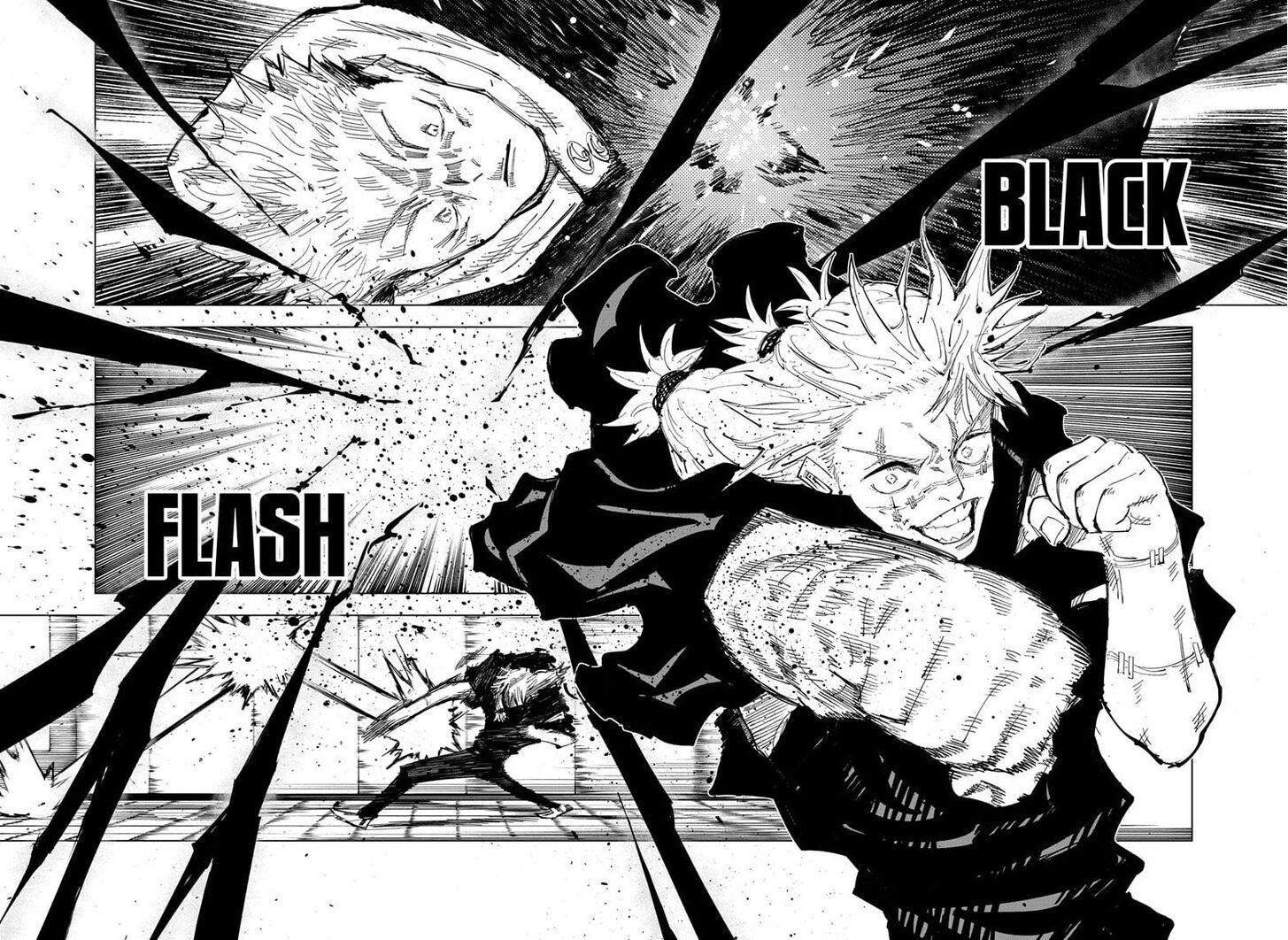 Jujutsu Kaisen, Chapter 126 008