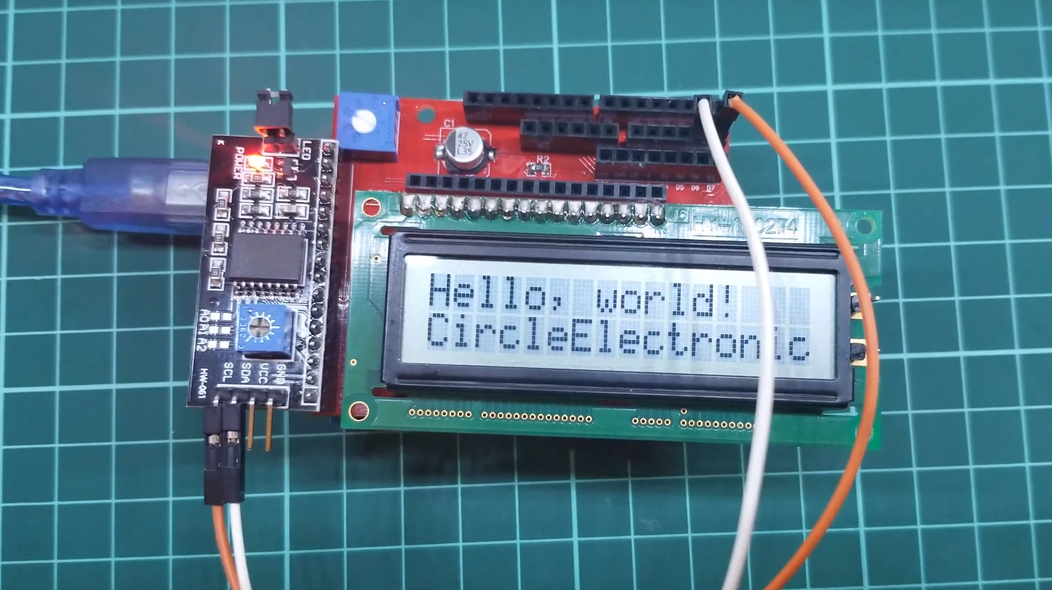 Using LCD's with Module