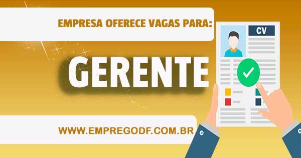EMPREGO PARA SUB GERENTE DE SELF SERVICE