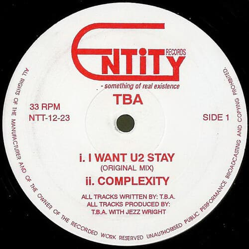 Download TBA - I Want U2 Stay / Complexity mp3
