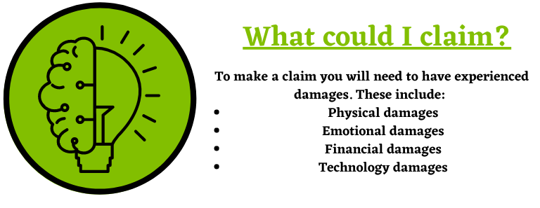 Different types of damages
