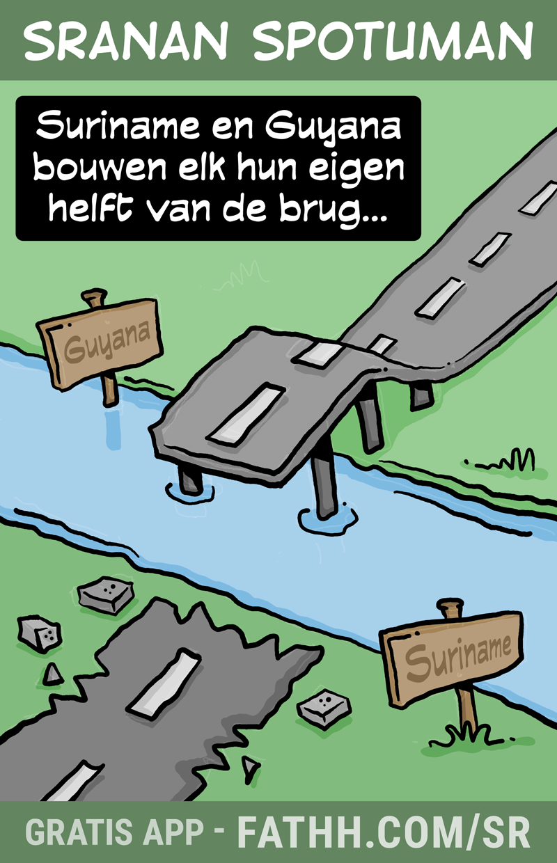 Sranan Spotuman : Bruggenbouwers