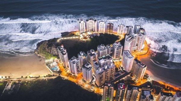 Потрясающая ночная Бразилия