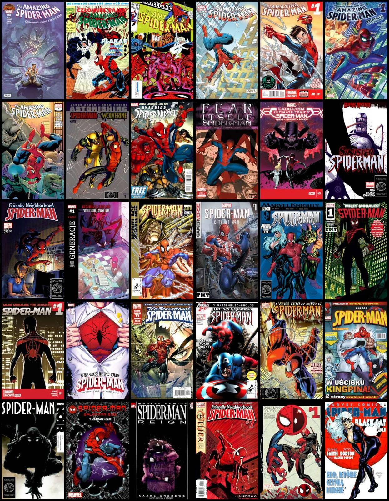 Spider-Man - Różne Komiksy