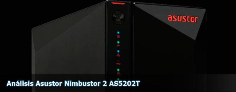 Análisis NAS Asustor Nimbustor 2 AS5202T