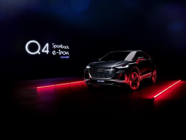 Un début d'année 2021 primé pour Audi  Q4etron-SB