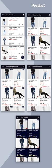 Material Design - Flutter Ui Kit Android - 15