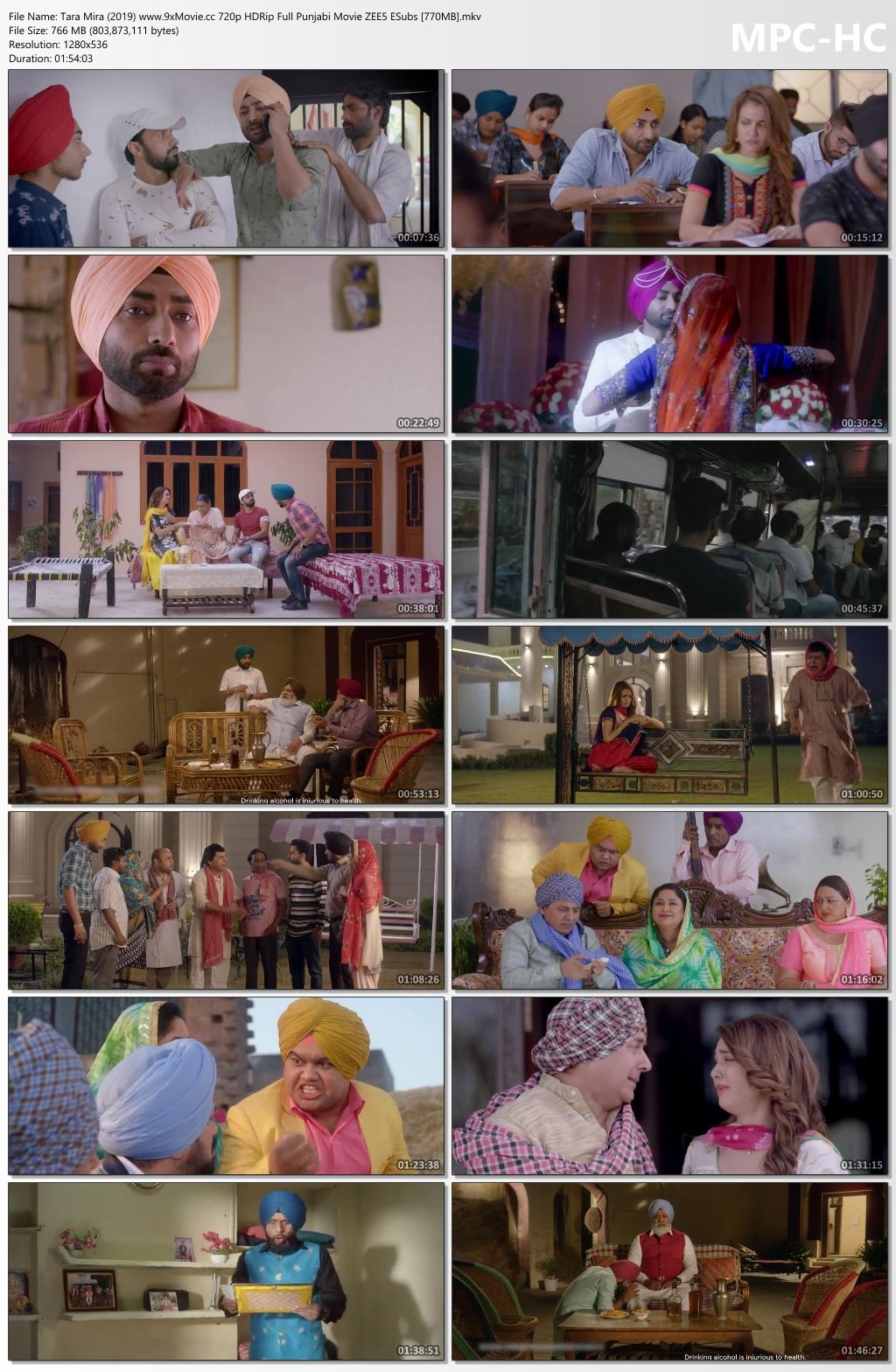 Tara-Mira-2019-www-9x-Movie-cc-720p-HDRip-Full-Punjabi-Movie-ZEE5-ESubs-770-MB-mkv